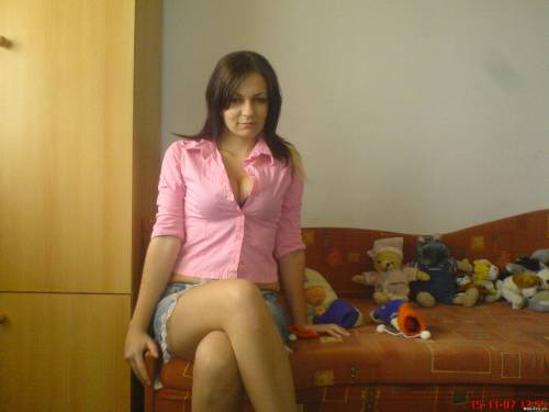Фото девушек - Секси девушка с шикарной грудью
